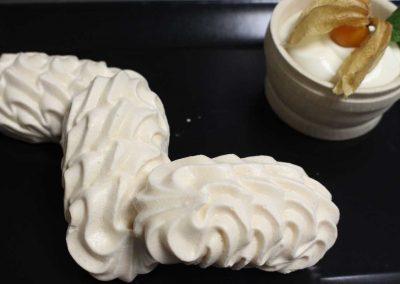 Meringues double crème