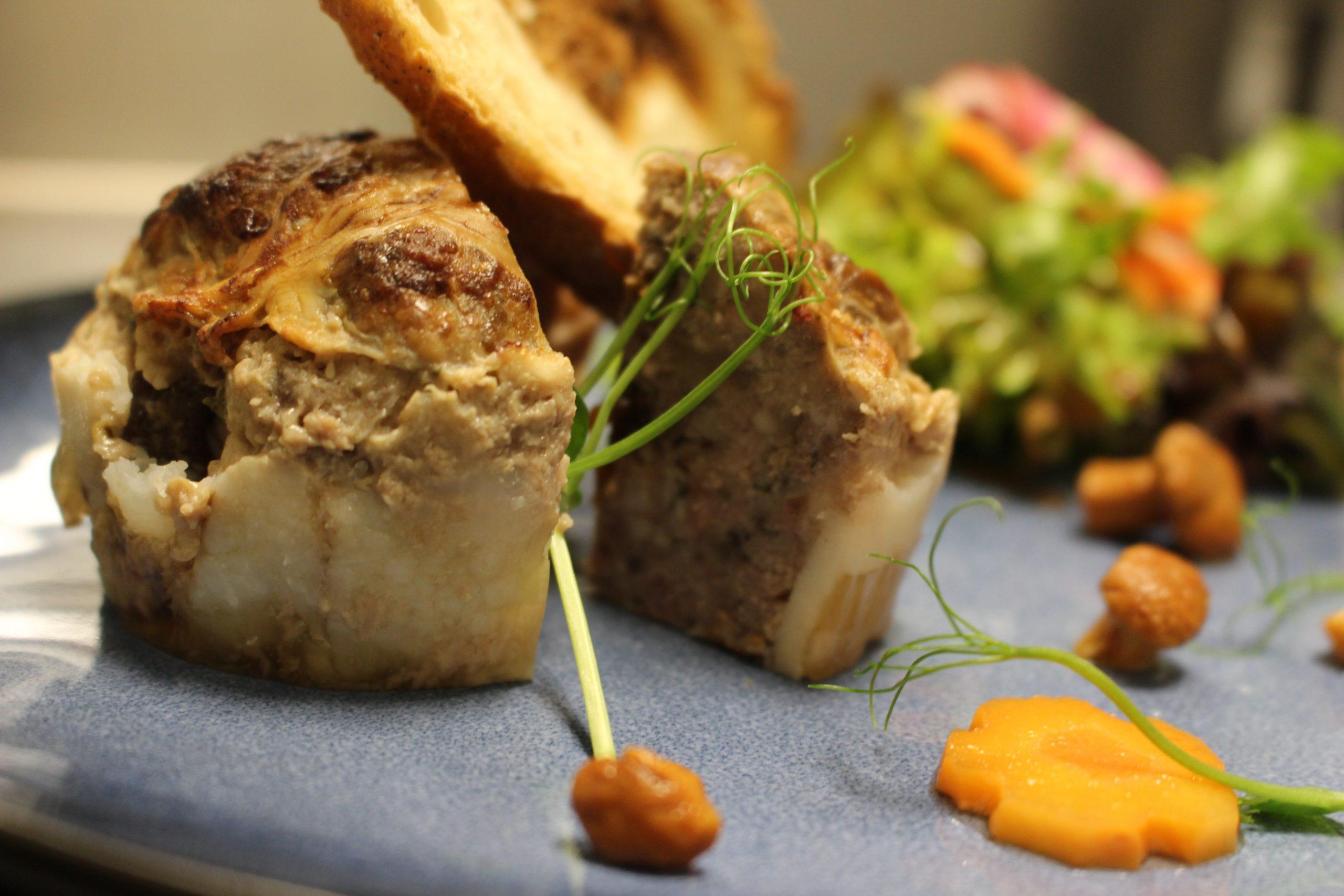 Foie gras de canard vinaigre de mangue
